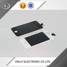 Perfectly working Newest screen for iphone 4s screen front glass replacement for iphone 4s with panel phone spare parts screen
