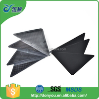 Carpet anti slip adhesive PU sticky glass table rubber pad