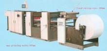 DMHS256 PS plate high speed digital flex printing machine price.