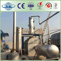 Yongle Huayin waste rubber oil recycling line