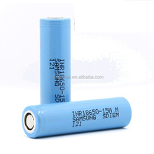 rechargeable battery 1500mah 3.7V INR18650 15MM for Samsung 18650 battery