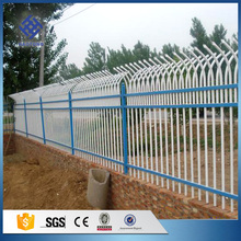 Factory price free design powder coated decorative short metal garden fence