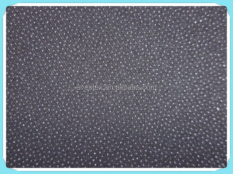 49gsm woven fusible interlining for leather clothes