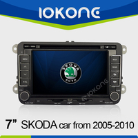7'' HD In dash 2 din Autoradio GPS navi for Skoda Octavia/Fabia/Seat Leon 2005-2010