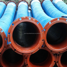 Big Diameter 8 Inch Flexible Rubber Hose for Water Suction and Discharge