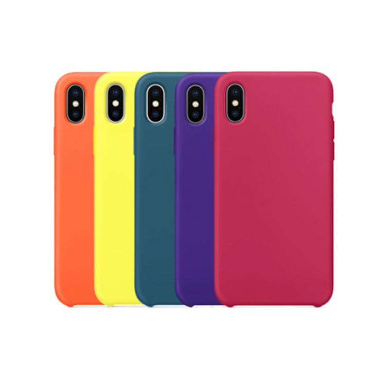 Liquid Silicone Case for iPhone Xs <strong>Max</strong> 6.5 inch 2018 Drop Protection Cover
