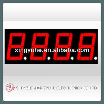 0.56'' 4 digit mini 7 segment led display
