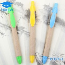 Hot selling Eco friendly promotional paper recycled ballpoint pens