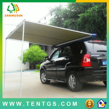 Canvas Fabric and Single Layers camper awning tent roof