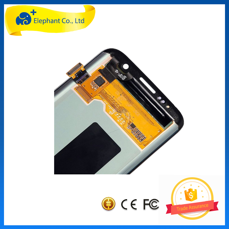 [5 Year Elephant] <strong>LCD</strong> for Samsung Galaxy S7 Edge <strong>LCD</strong> , <strong>LCD</strong> Screen Replacement for Samsung S7 Edge