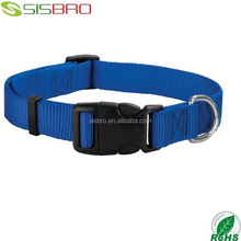 2017 Top seller low price dog collar nylon dog leads personalized dog collars