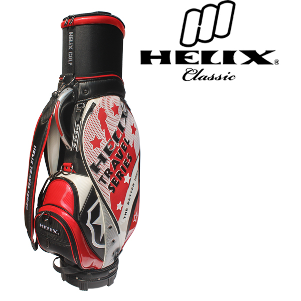 Helix designer mens golf bag / China best selling golf bags /unique golf bags with wheels