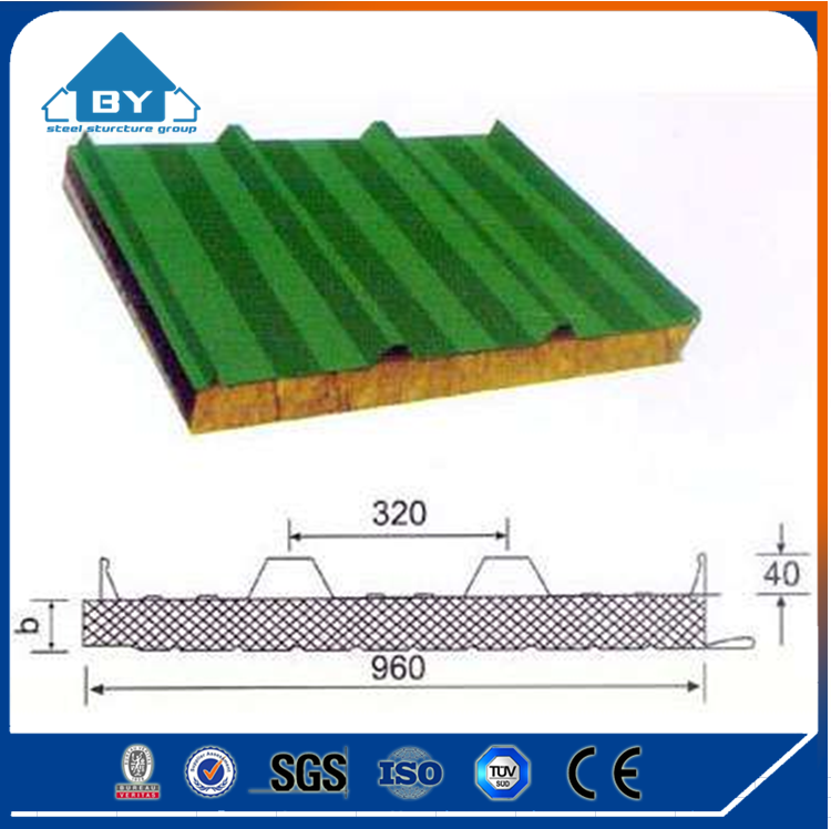 Exterior Decorative Non Metal Wall Panel Eps Sandwich Panel