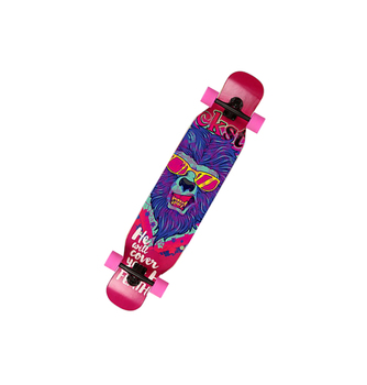wholesale adult dancinglongboard maple longboard deck cheap price OEM service