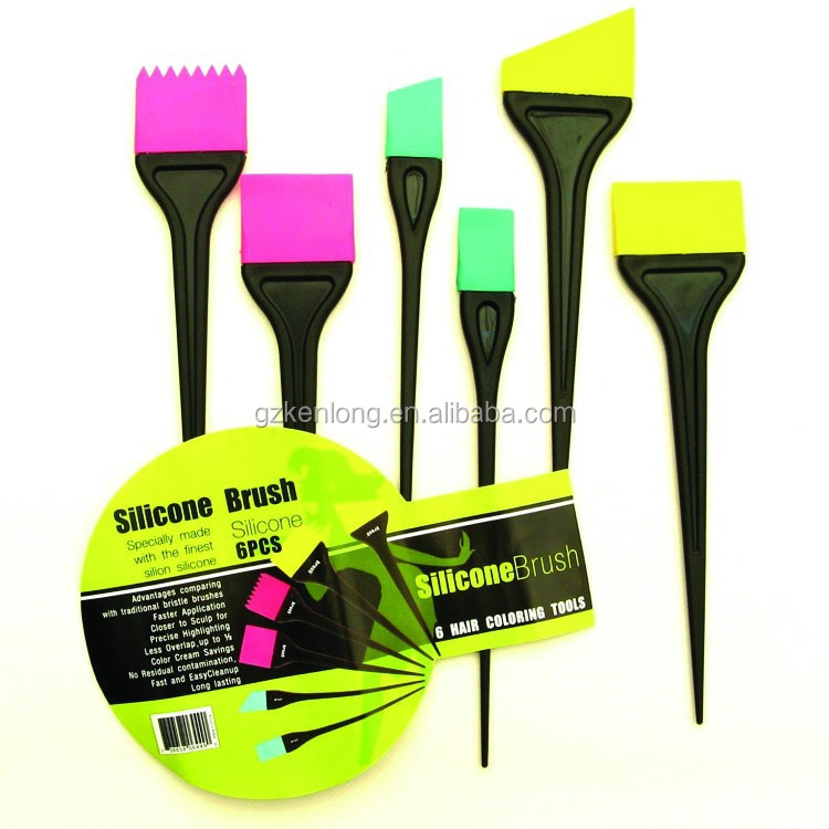 Top design high quality hair dyeing silicon tint brush