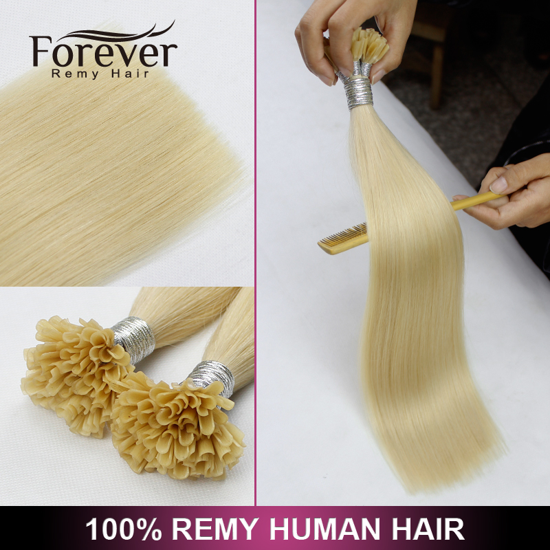 8 to 40 inch remy prebonded stick hair russian u tip keratin glue straight hair extensions