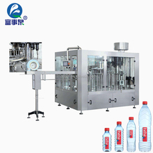 BV Certified automatic bottle water filling and sealing printing machine