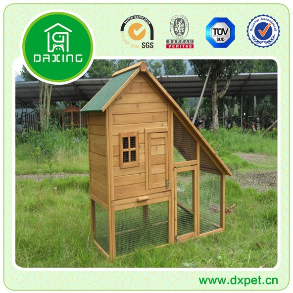 Chinese Handmade Wooden Rabbit Hutch