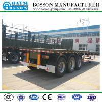 Best Selling 3 Axles 40ft Flatbed