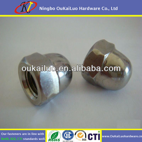SS304 Hexagon Flange Nuts
