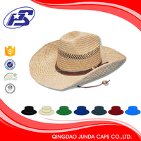 cheap plain wholesale straw felt cowboy hats