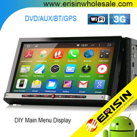 "Erisin ES2007A 7"" 2 Din Touch Screen Car DVD with 3D Games HD Vedio"