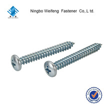 5mm standard galvanized iron nuts and pan head self tapping screw
