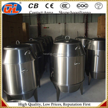 2015High quality and energy saving stainlesse steel gas peking duck roaster