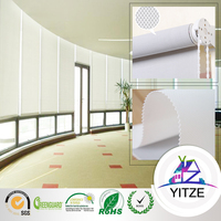 Decorative office window roller curtain/ blinds