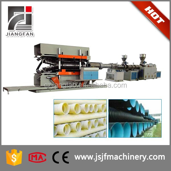 PVC Drain Pipe Extrusion Machines For Manufacturing