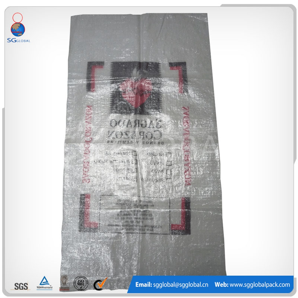 High quality 20kg 25kg plastic rice bags