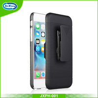 Hot sale plastic belt clip holster case for iphone 6 plus