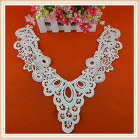 New design elegant crochet lace collars ready made collars ladies collar design