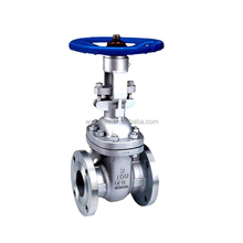 Manual Operated Casting industrial flanged WCB gate valve