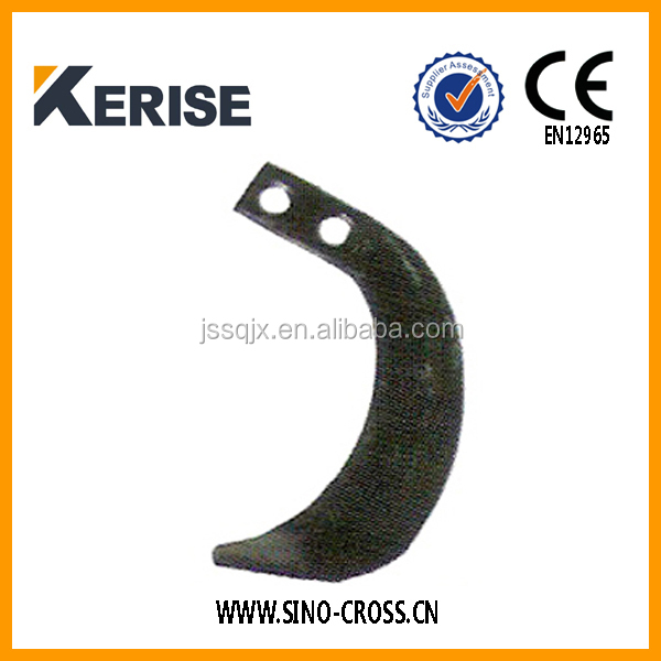 Cultivator rotary tiller blade, rotavator spare parts