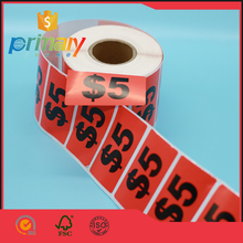 Yellow Release Paper Logistic Stickers Shipping Label Half Sheet Self Adhesive With Art Paper