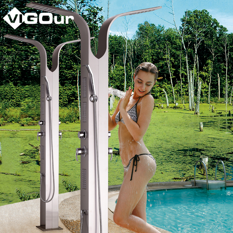Hotel Outdoor Shower Column Set,Shower Panels System #BS-6910