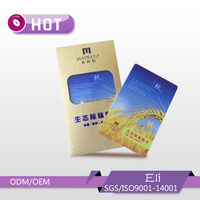 PVC card promotion aromatic car air freshener
