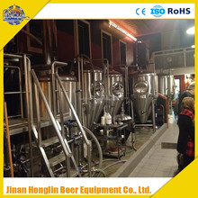 Brewhouse and fermenters, mini beer brewing equipment, pilot brewing system
