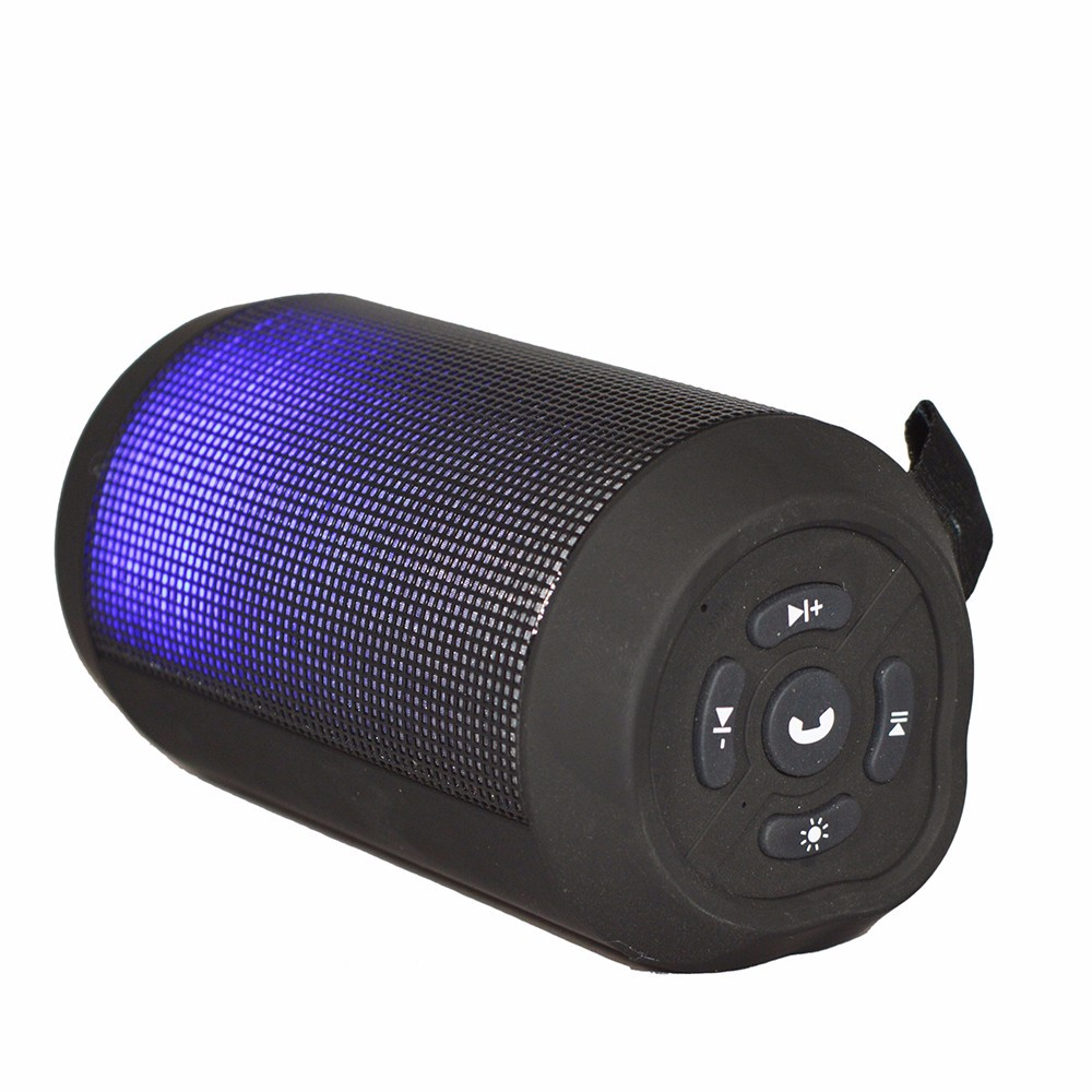 2017 newest speaker wireless waterproof colorful led bluetooth speaker