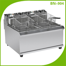 Commercial Stainless Steel Commercial Electric Deep Fat Chip Fryer Machine / deep fryer BN-904 (CE Approval)