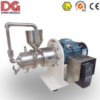 Laboratory sand mill for packaging coatings