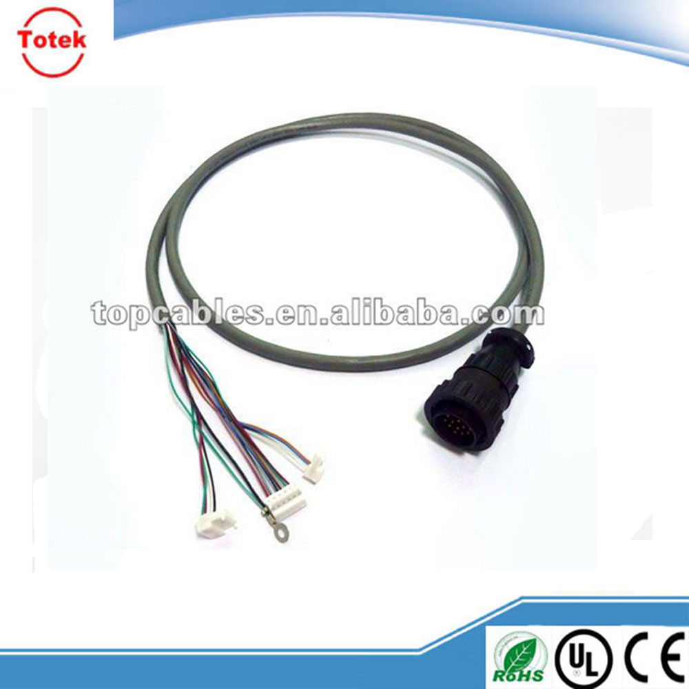 OEM wire harness with TE AMP CPC (Circular Plastic Connector) connector