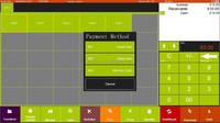 cashless payment pos software for restaurant, retail with rfid card