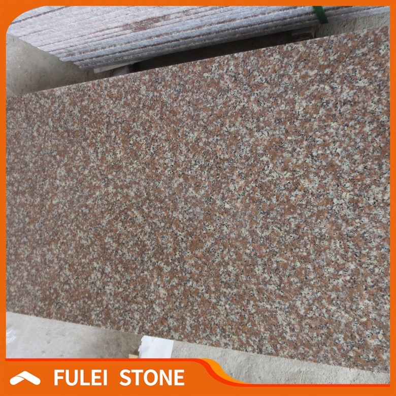 Cheapest Granite Stone Chine G687 Peach Red Granite Tile