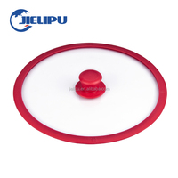 Smart Universal Lid Pots Pans Silicone Glass lid