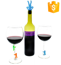 FDA Standard Keep Fresh Silicone Wine Bottle Stopper Anti-Dust Wine Stopper