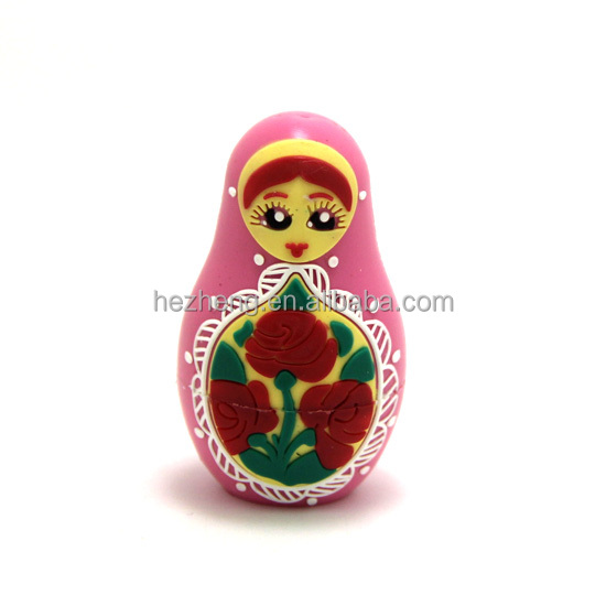 8GB Promotional Cartoon Character Doll USB Flash Drives Memory