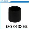 Plastic black pipe coupling pe100 hdpe electrofusion coupler