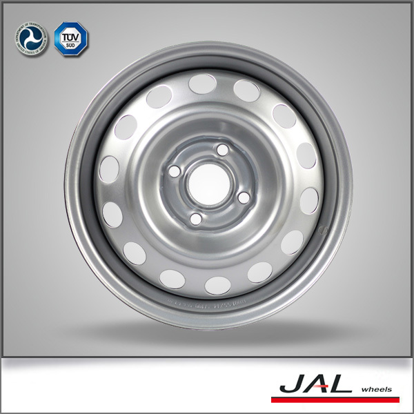 2015 best quality 14 inch silver steel wheel rim